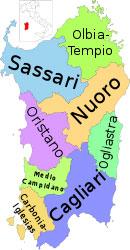 Aziende regione Sardegna