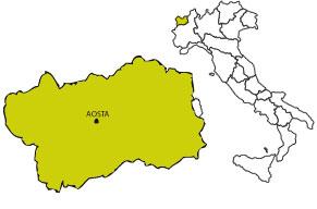 Locali nottuni regione Valle d'Aosta